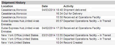 shipment-history